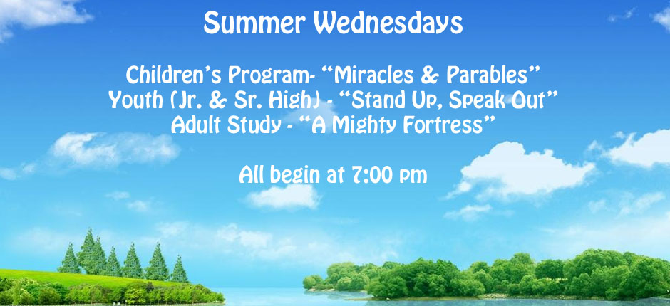 Summer Wednesdays 2017