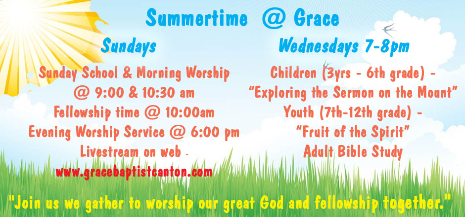 Summer at Grace